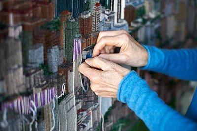 Sola Fiedler working (detail)