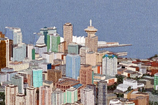 """Sola Fiedler """"Vancouver Tapestry"""" (detail)"""