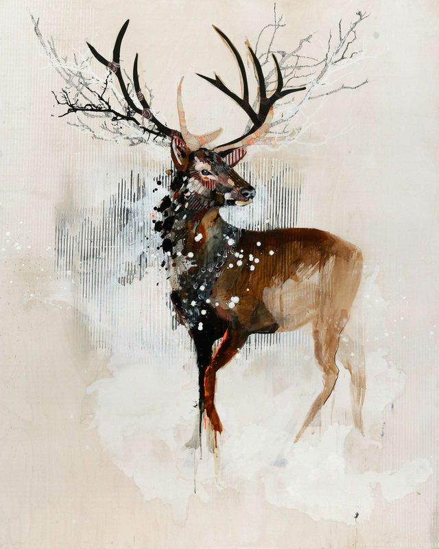 """""""Deer Crown White"""""""