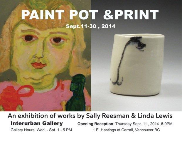 Paint Pot exhibition