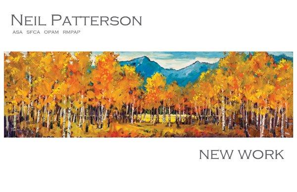 """Neil Patterson Exhibition"" poster"