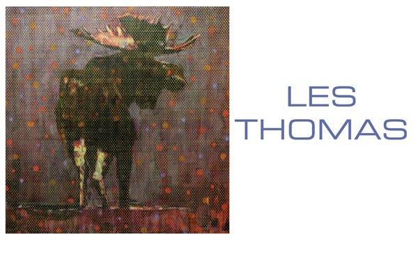 """""""Les Thomas Exhibition"""" poster"""