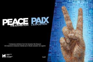 Peace exhibition invite