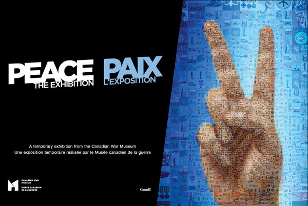 Peace exhibition invite
