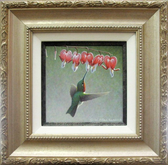 """Ruby Throat and Bleeding Hearts"""