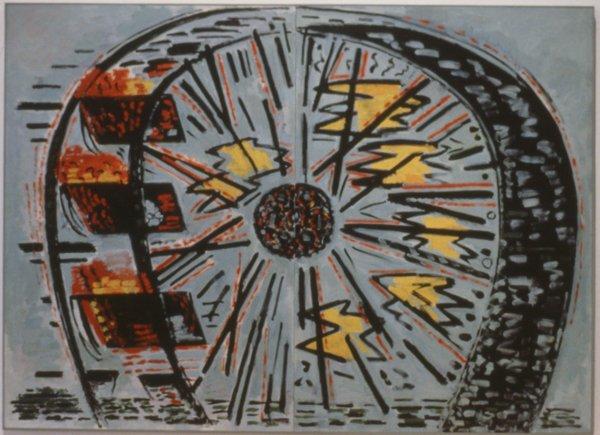 "John Clark, ""The Wheel"" 1986"