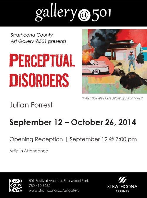 """""""Perceptual Disorders"""" poster"""
