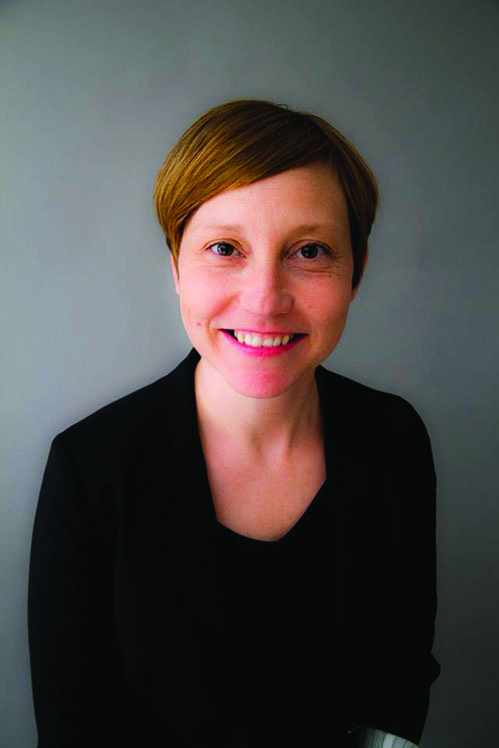Jen Mizuik, director of visual and digital arts