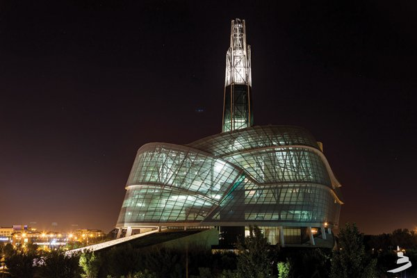 The Canadian Museum for Human Rights.