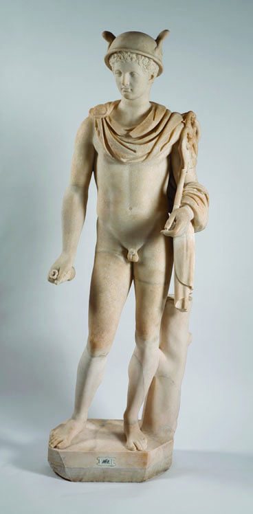 """""""Marble statue of Hermes"""""""