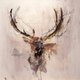 """Elk Crown - White"""