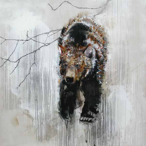 """""""Great White North Series - Grizzly Bear"""""""