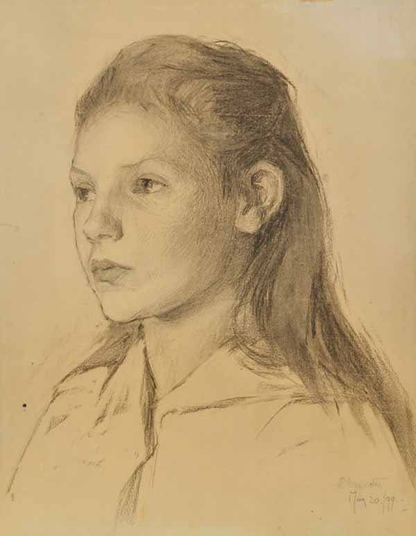 """""""Untitled (Portrait of a girl)"""""""
