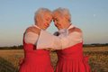 """""""Glaslyn twins embrace (from we live on the edge of disaster and imagine we are in a musical)"""""""