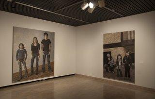 """Michèle Mackasey: """"face à nous"""" Exhibition Installation"""