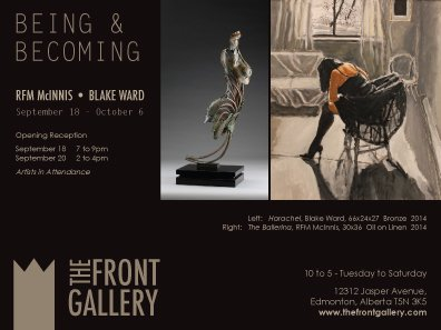 """Being and Becoming"" exhibition poster"