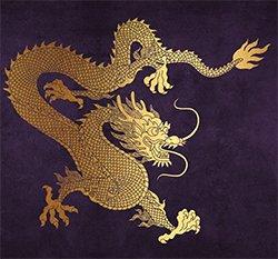 Forbidden City - dragon
