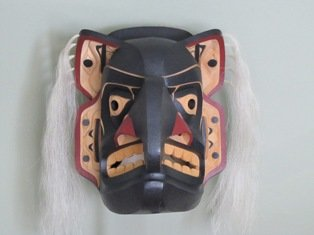"""Thunder and Four Brothers Mask"""