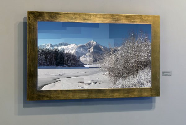 """""""Fragments of a Year – Barrier Lake"""""""