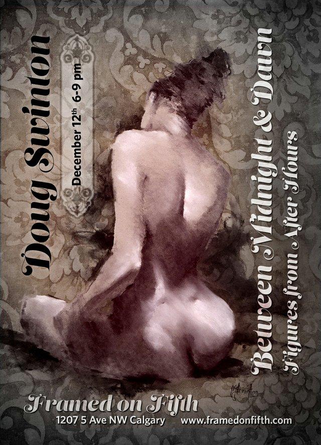 Doug Swinton show poster