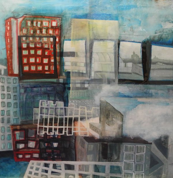 """Cloudy Cityscape # 2"""