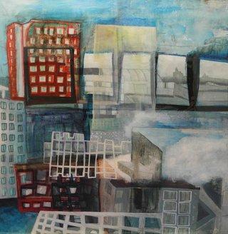 """Cloudy Cityscape # 2"""