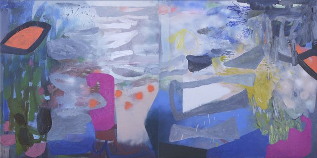 """Hide and Seek (diptych)"""