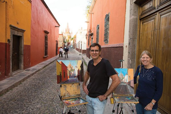"""Tom and Donna Dickson in San Miguel de Allende"""