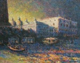 """Ducal Palace Evening Venezia"""