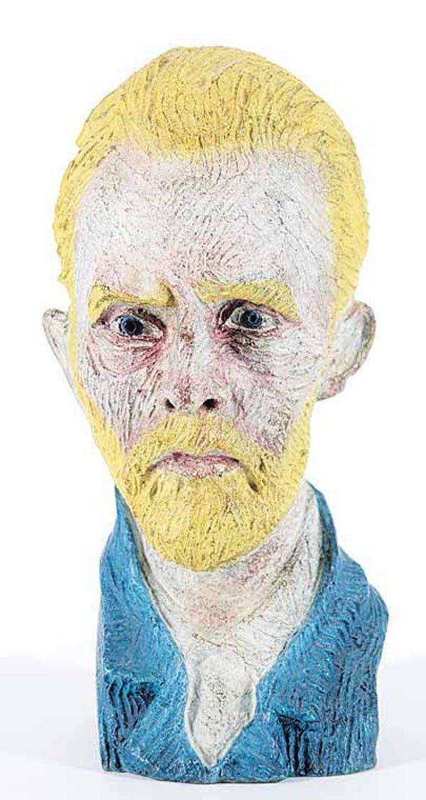 """JOSEPH [JOE] FAFARD, """"Vincent Van Gogh"""" #3/7"""