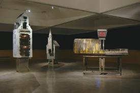 """Woodrow"" installation view."