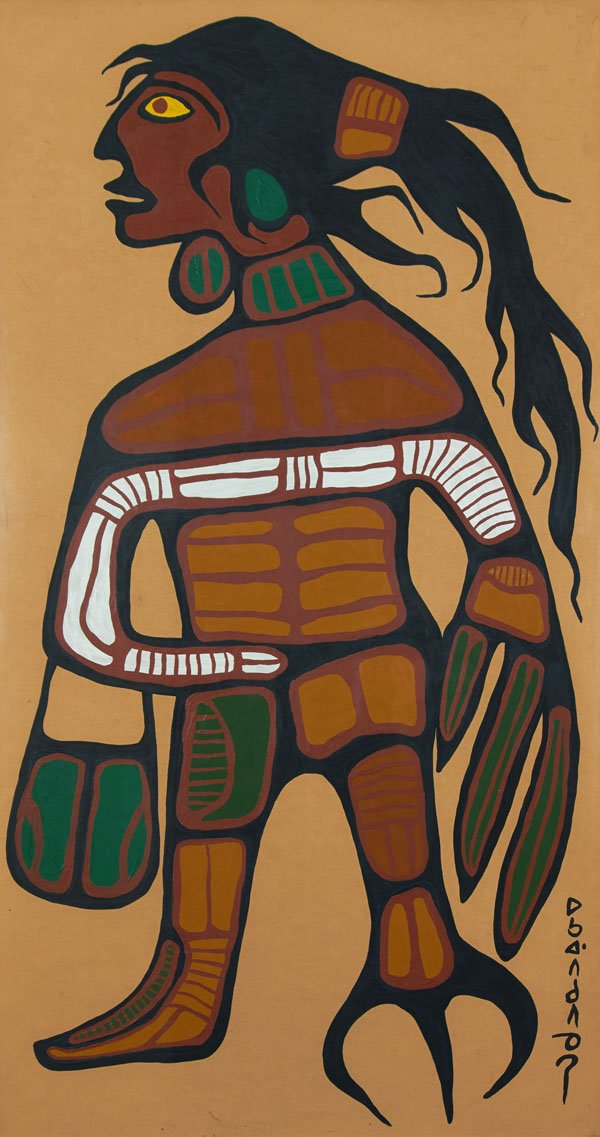 "NORVAL MORRISSEAU ""Warrior"""