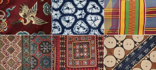 Multicultural Textile Symposium poster