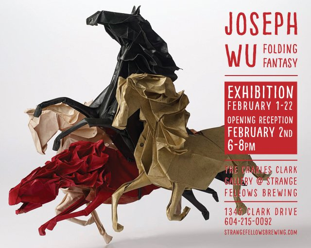 Joseph Wu exhibition poster