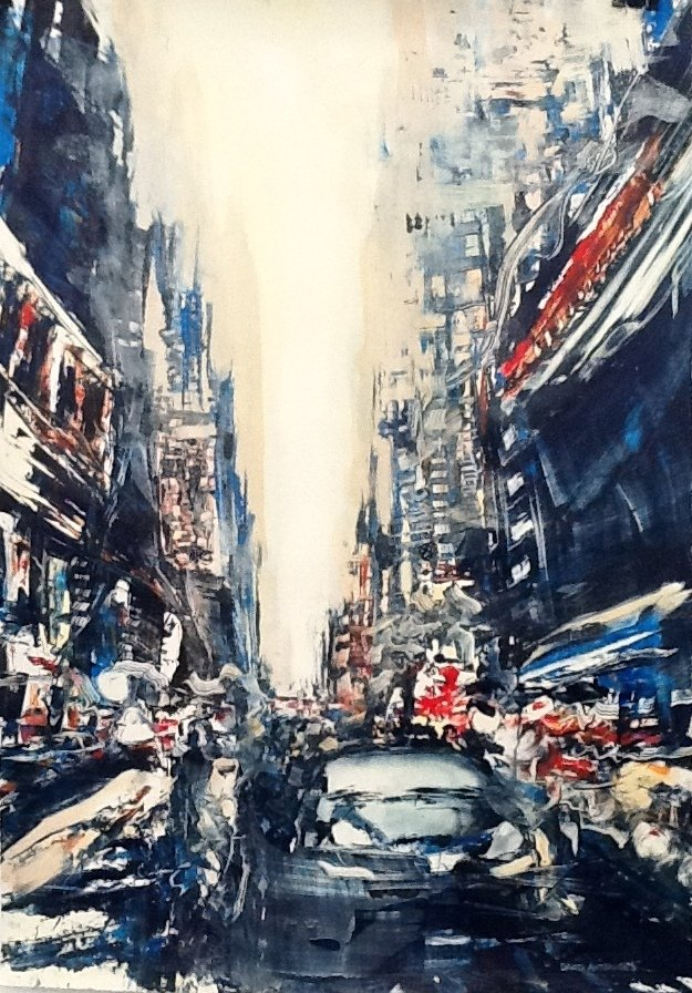 "David Antonides, ""City"""