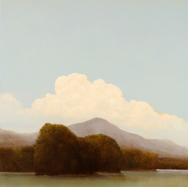 """Cloud, Mountain, Lake"""
