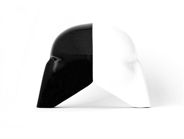 """Dean Drever """"Black & White Mask"""", Ed. 1/2"""