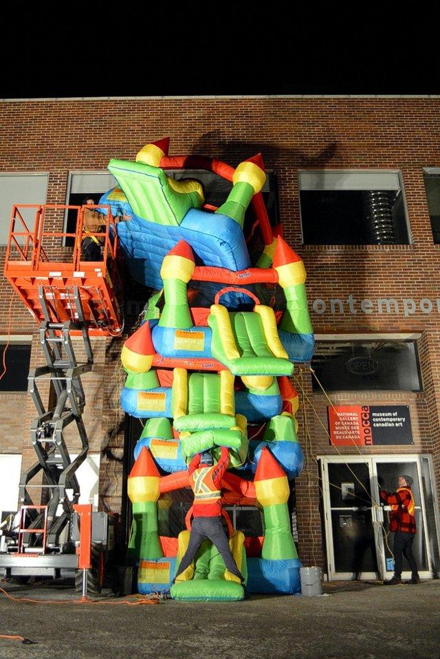 """Jon Sasaki """"Bouncy Highrise"""""""