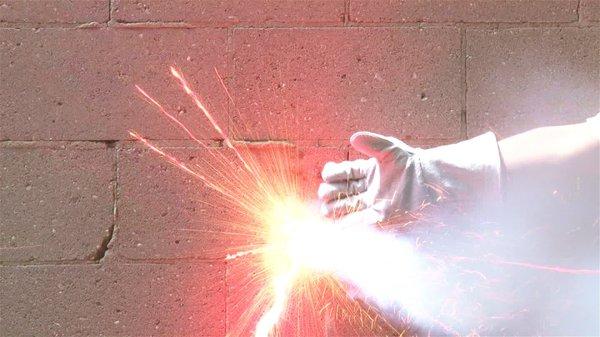 "Jon Sasaki ""Hand Catching Fireworks"" video still"