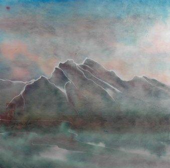 """Yuriko Kitamura """"Mt. Rundle"""""""