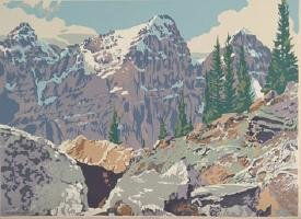 """Valley of the Ten Peaks"""