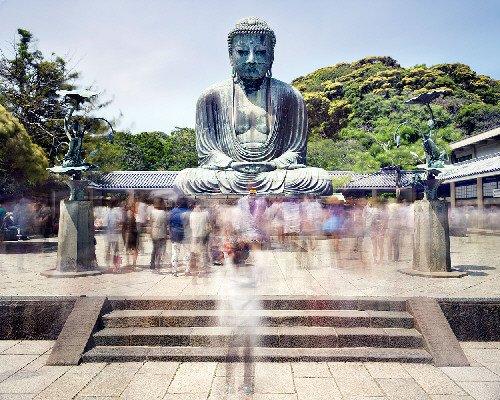 "Matthew Pillsbury ""Daibutsu - Kotoku - in Temple, Kamakura TV 14633"""