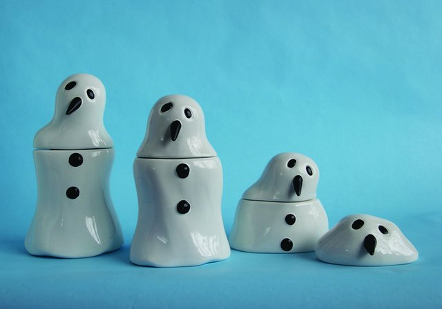 """""""Melting Snowman Canisters"""""""