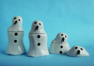 """Melting Snowman Canisters"""