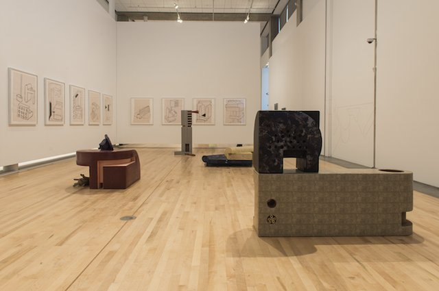 "Installation view of ""Ideas and Things"""