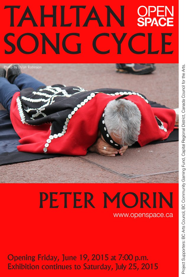 """""""Tahltan Song Cycles"""" show poster"""