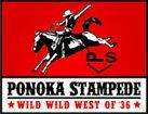 Ponoka Stampede logo