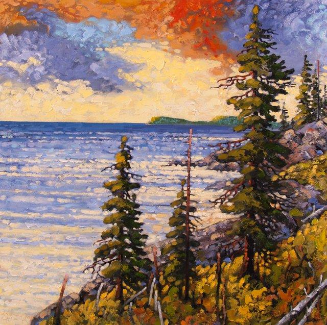 """Pacific Rim, Evening Sky"""
