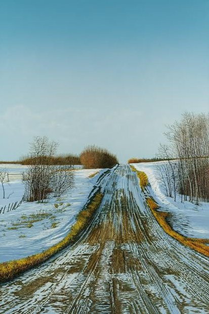 """Prairie Tracks"""