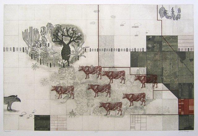 "Miriam Rudolph, ""Transposition IV"", 2015"